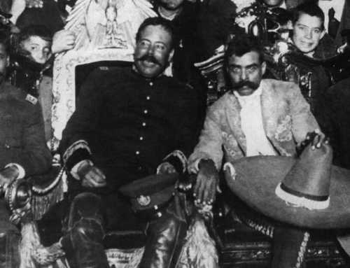 BIGOTES Y BARBAS DE LA REVOLUCIÓN MEXICANA