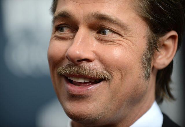 movember brad pitt mustache
