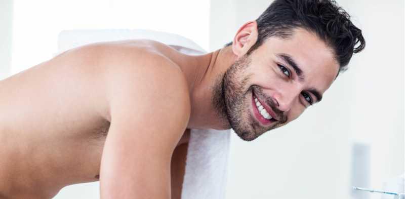 Cuidados de la piel masculina con barba